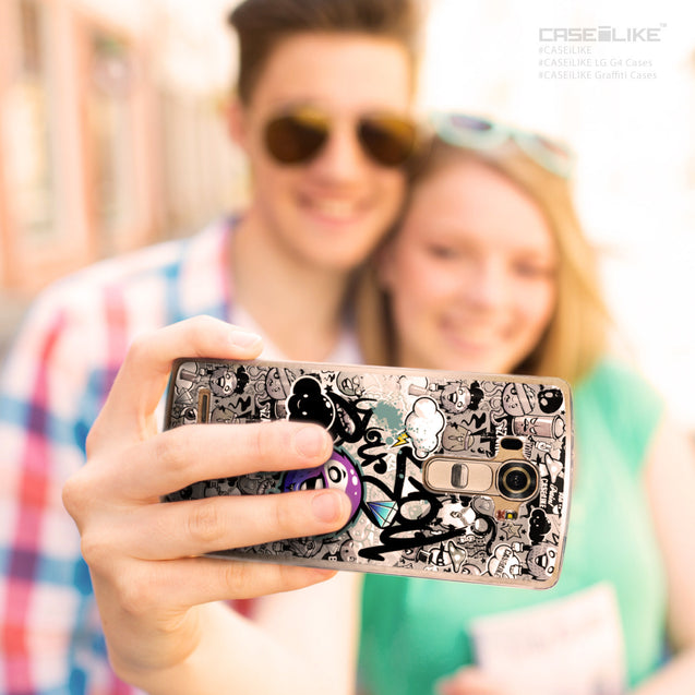 Share - CASEiLIKE LG G4 back cover Graffiti 2706