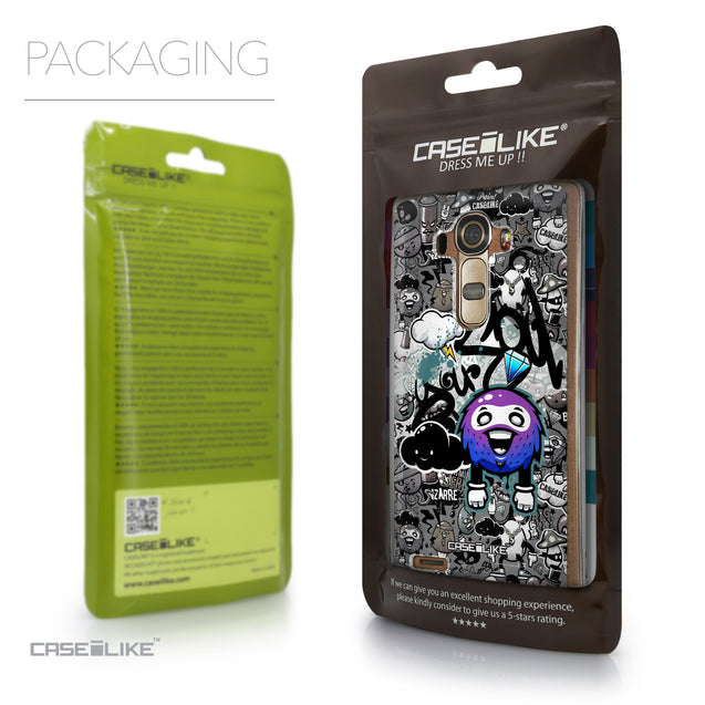 Packaging - CASEiLIKE LG G4 back cover Graffiti 2706