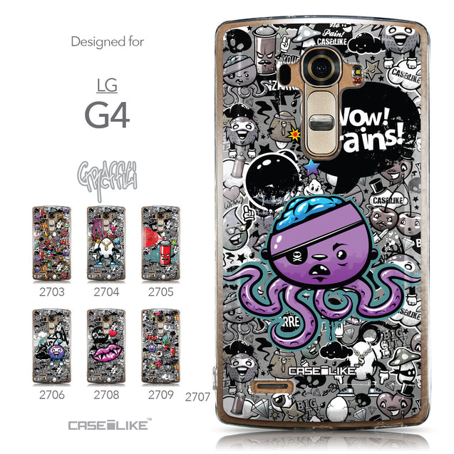 Collection - CASEiLIKE LG G4 back cover Graffiti 2707
