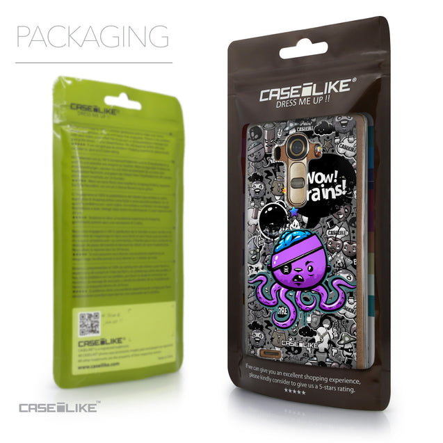 Packaging - CASEiLIKE LG G4 back cover Graffiti 2707