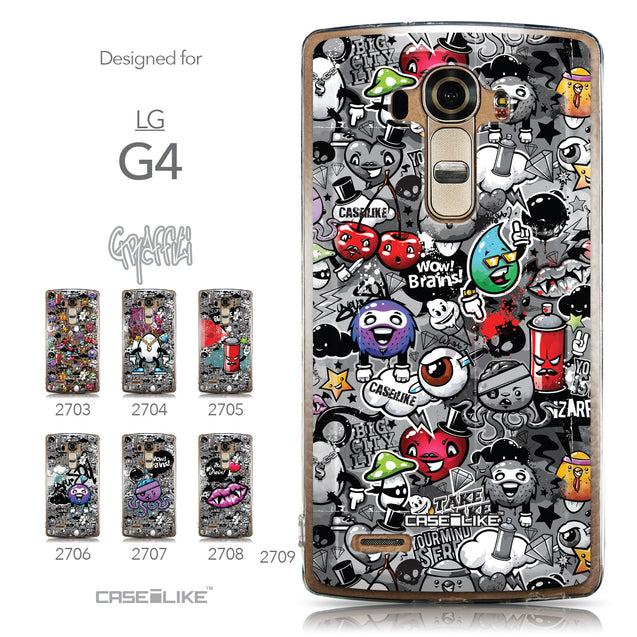 Collection - CASEiLIKE LG G4 back cover Graffiti 2709