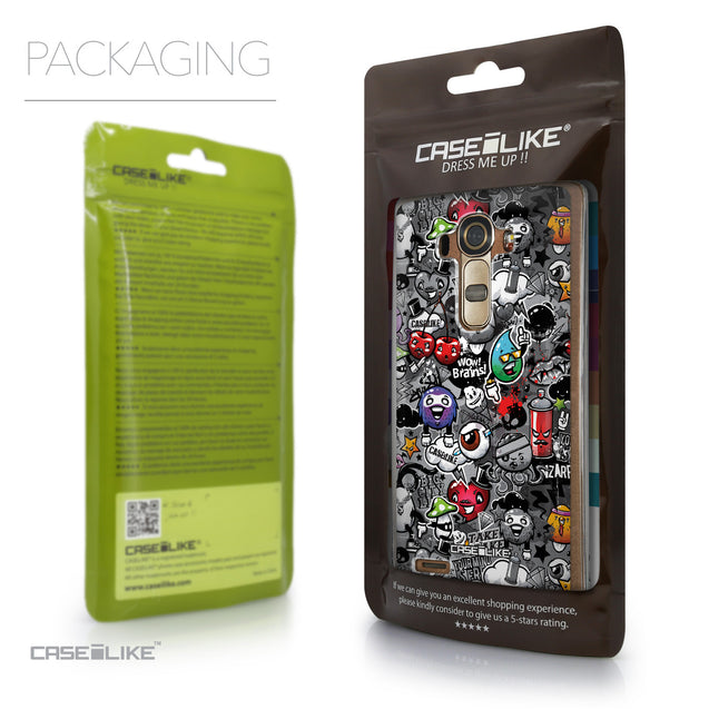 Packaging - CASEiLIKE LG G4 back cover Graffiti 2709