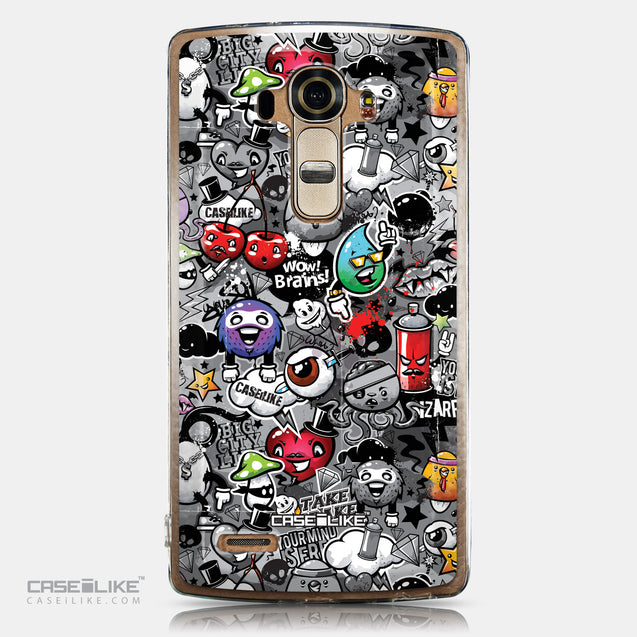 CASEiLIKE LG G4 back cover Graffiti 2709