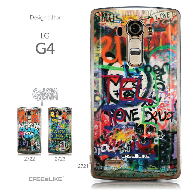 Collection - CASEiLIKE LG G4 back cover Graffiti 2721