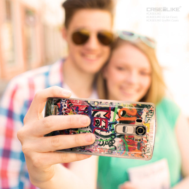 Share - CASEiLIKE LG G4 back cover Graffiti 2721