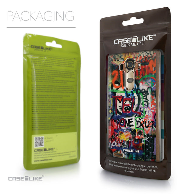 Packaging - CASEiLIKE LG G4 back cover Graffiti 2721