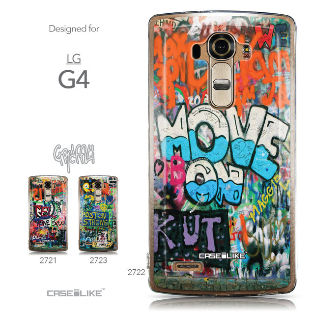 Collection - CASEiLIKE LG G4 back cover Graffiti 2722