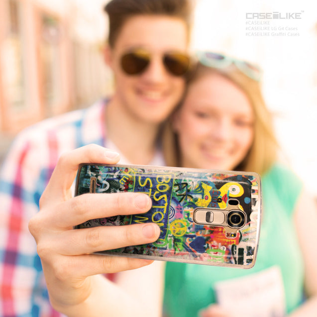 Share - CASEiLIKE LG G4 back cover Graffiti 2723