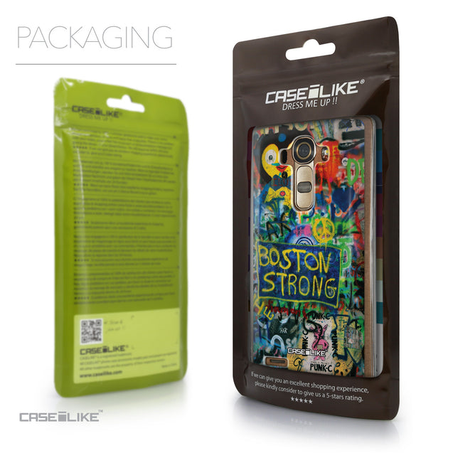 Packaging - CASEiLIKE LG G4 back cover Graffiti 2723