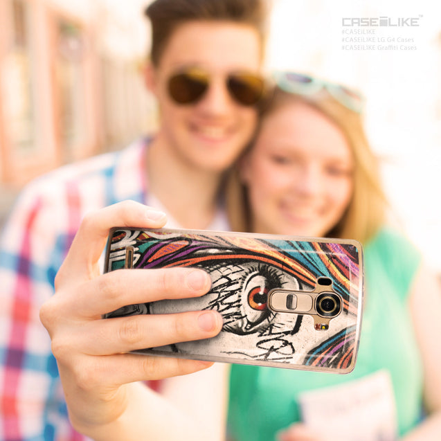 Share - CASEiLIKE LG G4 back cover Graffiti Girl 2724