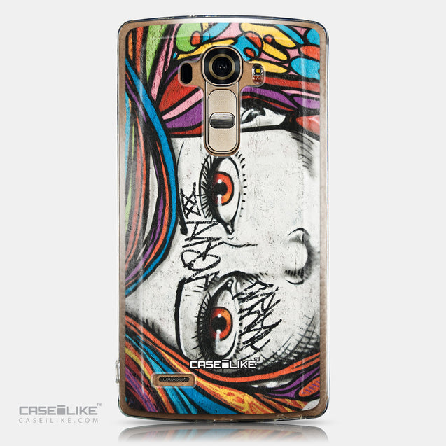 CASEiLIKE LG G4 back cover Graffiti Girl 2725