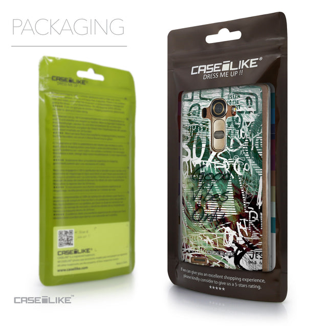 Packaging - CASEiLIKE LG G4 back cover Graffiti 2728