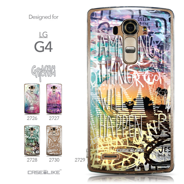 Collection - CASEiLIKE LG G4 back cover Graffiti 2729