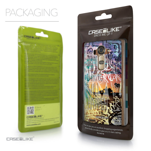 Packaging - CASEiLIKE LG G4 back cover Graffiti 2729