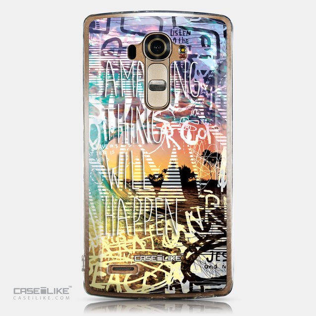 CASEiLIKE LG G4 back cover Graffiti 2729