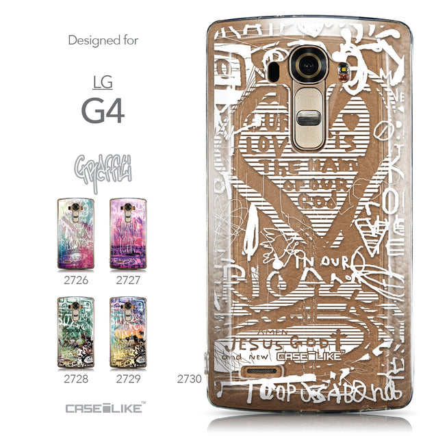 Collection - CASEiLIKE LG G4 back cover Graffiti 2730