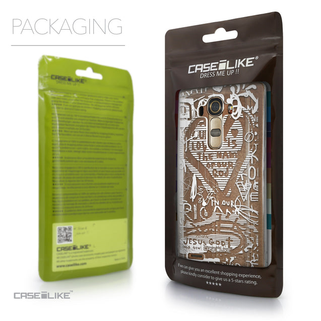 Packaging - CASEiLIKE LG G4 back cover Graffiti 2730