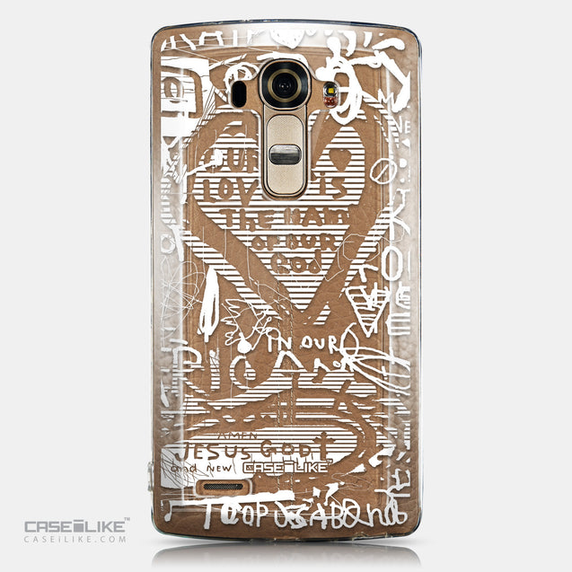 CASEiLIKE LG G4 back cover Graffiti 2730