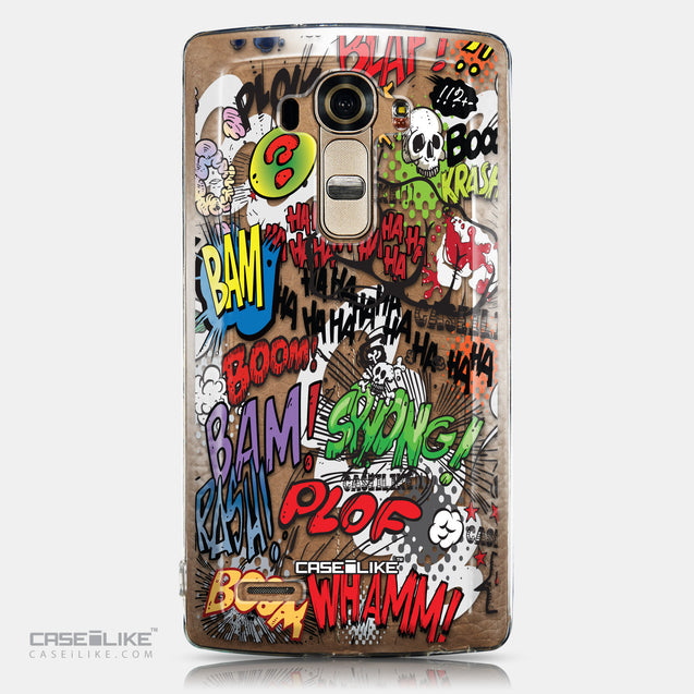 CASEiLIKE LG G4 back cover Comic Captions 2914