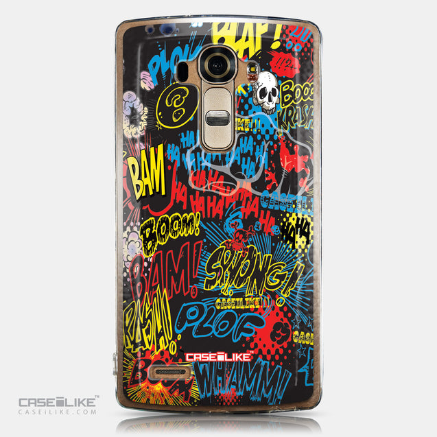 CASEiLIKE LG G4 back cover Comic Captions Black 2915