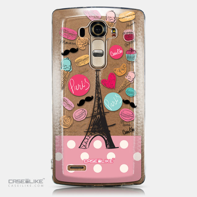 CASEiLIKE LG G4 back cover Paris Holiday 3904