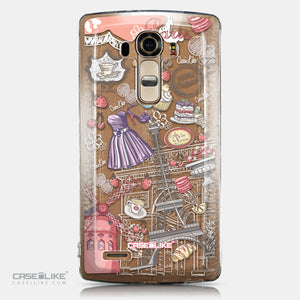 CASEiLIKE LG G4 back cover Paris Holiday 3907