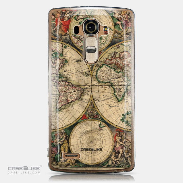 CASEiLIKE LG G4 back cover World Map Vintage 4607