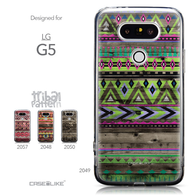 Collection - CASEiLIKE LG G5 back cover Indian Tribal Theme Pattern 2049
