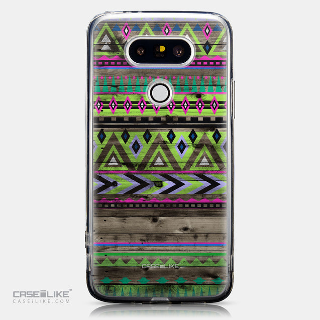 CASEiLIKE LG G5 back cover Indian Tribal Theme Pattern 2049
