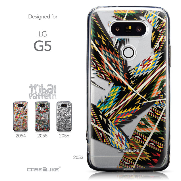 Collection - CASEiLIKE LG G5 back cover Indian Tribal Theme Pattern 2053