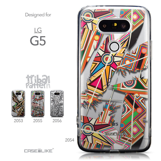 Collection - CASEiLIKE LG G5 back cover Indian Tribal Theme Pattern 2054
