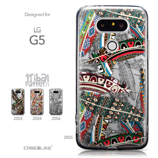 Collection - CASEiLIKE LG G5 back cover Indian Tribal Theme Pattern 2055