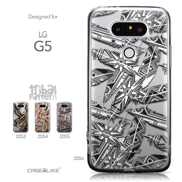Collection - CASEiLIKE LG G5 back cover Indian Tribal Theme Pattern 2056