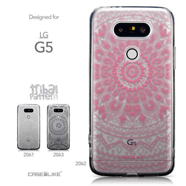 Collection - CASEiLIKE LG G5 back cover Indian Line Art 2062