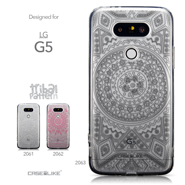 Collection - CASEiLIKE LG G5 back cover Indian Line Art 2063