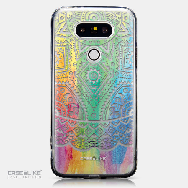 CASEiLIKE LG G5 back cover Indian Line Art 2064