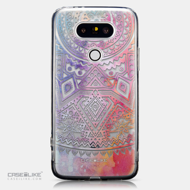 CASEiLIKE LG G5 back cover Indian Line Art 2065