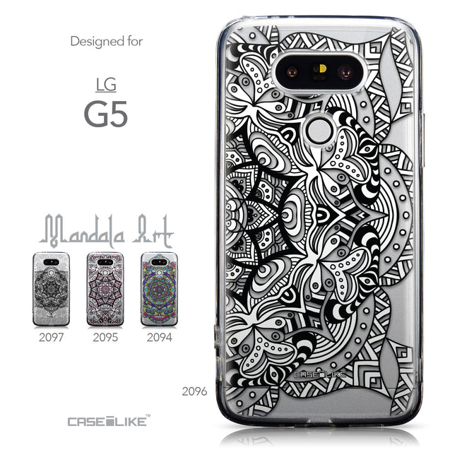 Collection - CASEiLIKE LG G5 back cover Mandala Art 2096