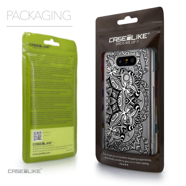 Packaging - CASEiLIKE LG G5 back cover Mandala Art 2096