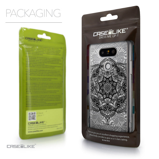 Packaging - CASEiLIKE LG G5 back cover Mandala Art 2097