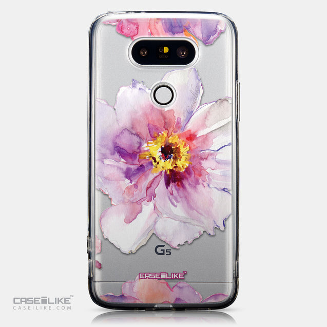 CASEiLIKE LG G5 back cover Watercolor Floral 2231