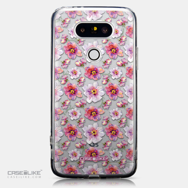 CASEiLIKE LG G5 back cover Watercolor Floral 2232