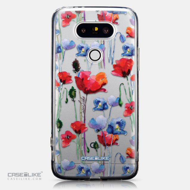 CASEiLIKE LG G5 back cover Watercolor Floral 2234