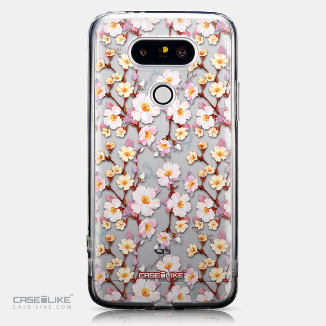 CASEiLIKE LG G5 back cover Watercolor Floral 2236