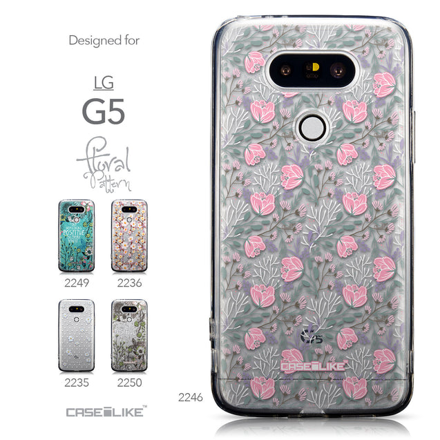Collection - CASEiLIKE LG G5 back cover Flowers Herbs 2246