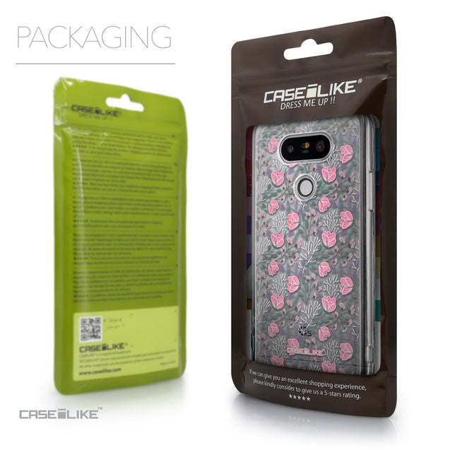 Packaging - CASEiLIKE LG G5 back cover Flowers Herbs 2246