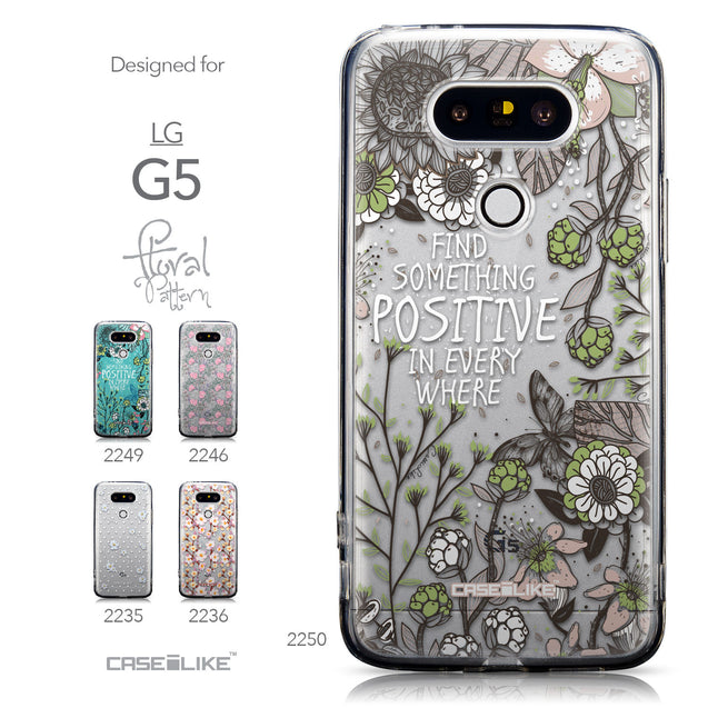 Collection - CASEiLIKE LG G5 back cover Blooming Flowers 2250