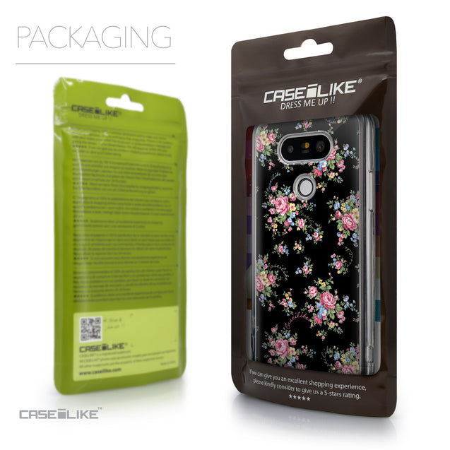 Packaging - CASEiLIKE LG G5 back cover Floral Rose Classic 2261