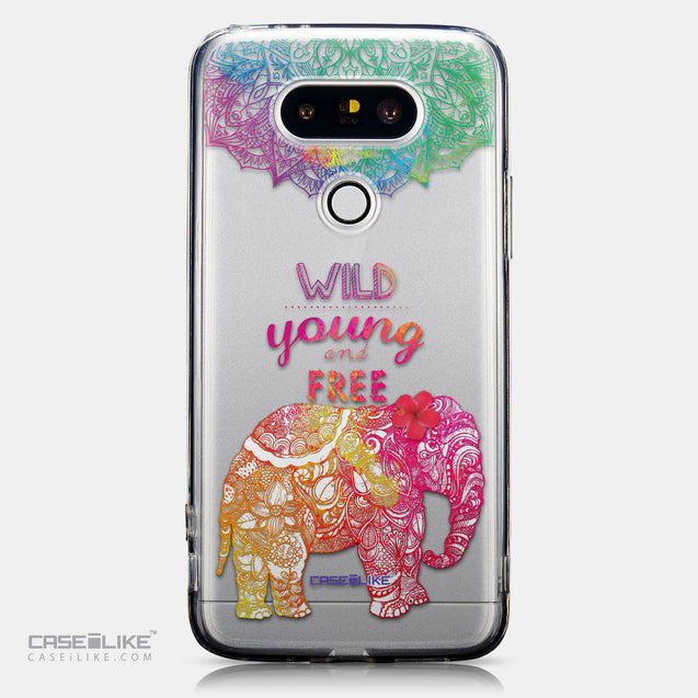 CASEiLIKE LG G5 back cover Mandala Art 2302