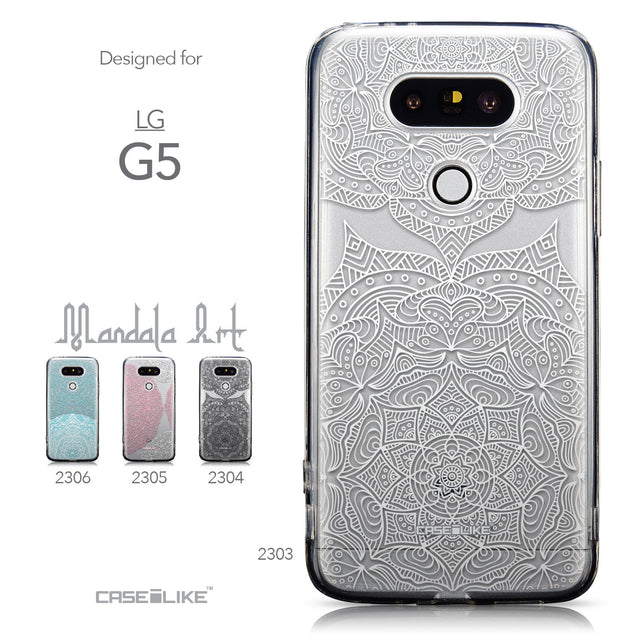 Collection - CASEiLIKE LG G5 back cover Mandala Art 2303